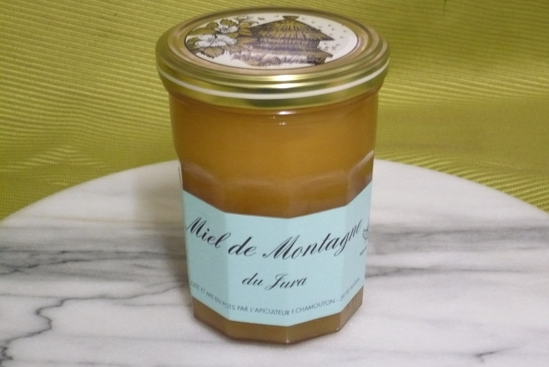 miel bio dans le jura